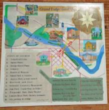 Grand Ledge Mural Map smaller