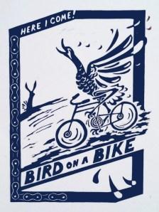 Bird on a Bike