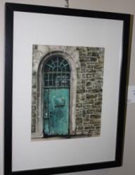 Green Door by Lisabeth Curnow