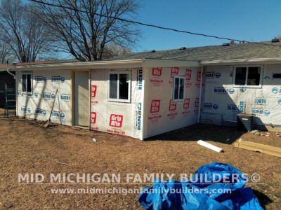 MId Michigan Family Builders Driveway & Siding Project 04 26 18 05