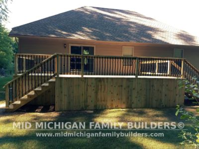 Mid MIchigan Family Builders Deck Project 07 03 2018 03