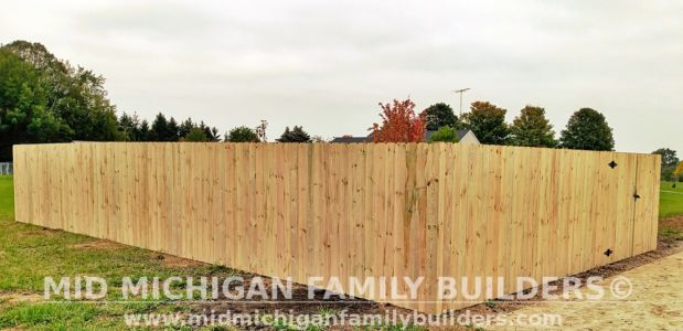 Mid Michigan FamIly Builder New Fence Project 10 2021 01 01