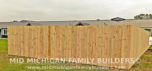 Mid Michigan FamIly Builder New Fence Project 10 2021 01 03