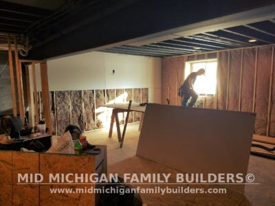 Mid Michigan Family Builders Basement Project 01 2018 01 05