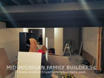Mid Michigan Family Builders Basement Project 01 2018 01 09
