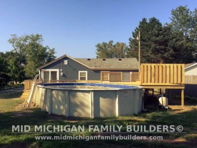 Mid Michigan Family Builders Big Pool Deck After 08 2018 09