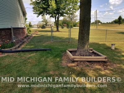 Mid Michigan Family Builders Chain Link Fence Project 2020 02 03
