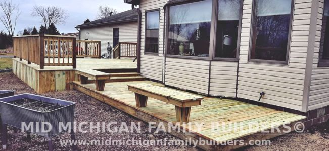 Mid Michigan Family Builders Deck Project 03 2021 02 01