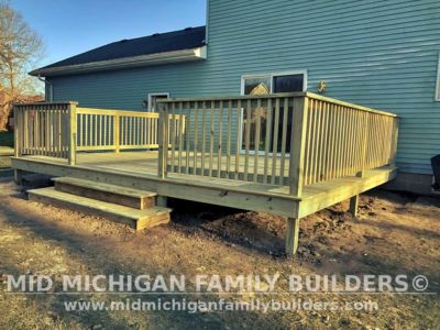 Mid Michigan Family Builders Deck Project 04 2020 01 05
