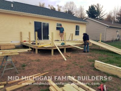 Mid Michigan Family Builders Deck Project 05 16 2018 03
