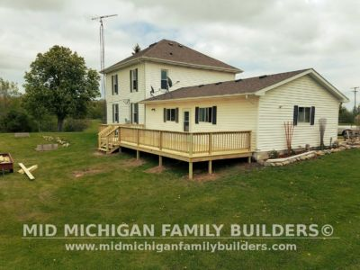 Mid Michigan Family Builders Deck Project 05 21 2018 04