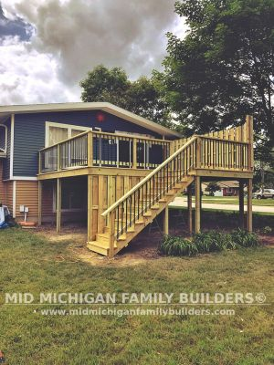Mid Michigan Family Builders Deck Project 06 2019 03 06