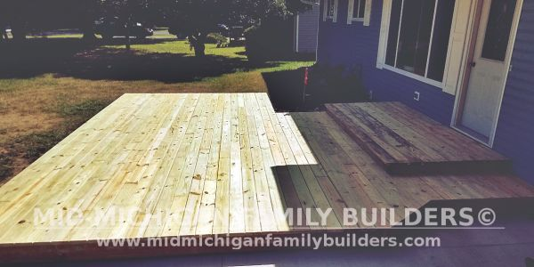 Mid Michigan Family Builders Deck Project 08 2019 03 02