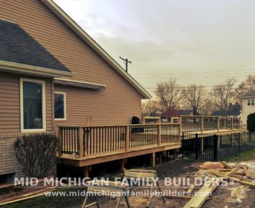 Mid Michigan Family Builders Deck Project 11 2018 02 01