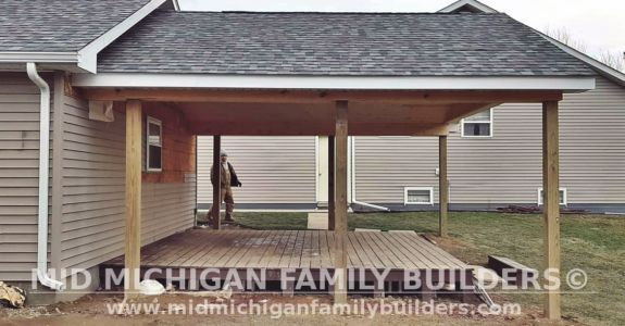 Mid Michigan Family Builders Deck and Porch Project 12 2020 01 03