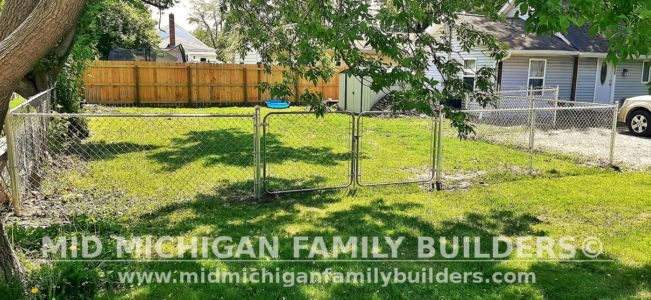 Mid Michigan Family Builders Fence Project 05 2021 03 01