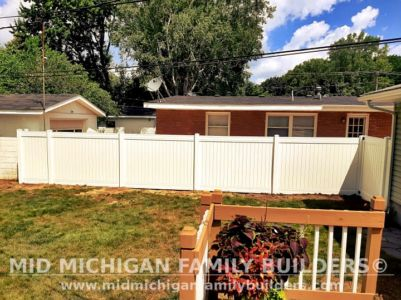 Mid Michigan Family Builders Fence Project 06 2021 09 01