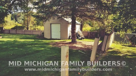 Mid Michigan Family Builders Fence Project 09 2019 01 04