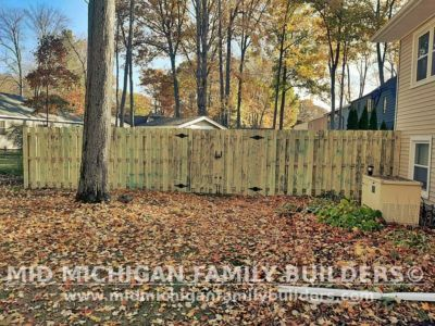Mid Michigan Family Builders Fence Project 10 2020 03 02