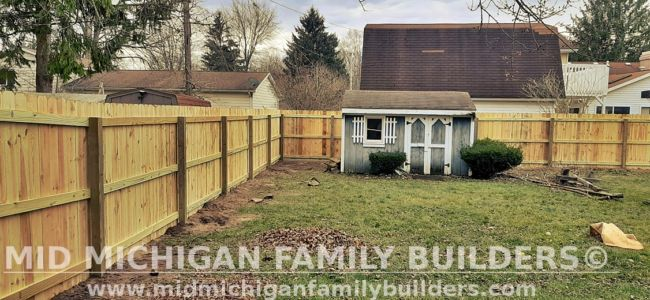 Mid Michigan Family Builders Fence Project 11 2020 01 03