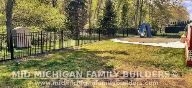 Mid Michigan Family Builders Fence Project 5 2021 01 05