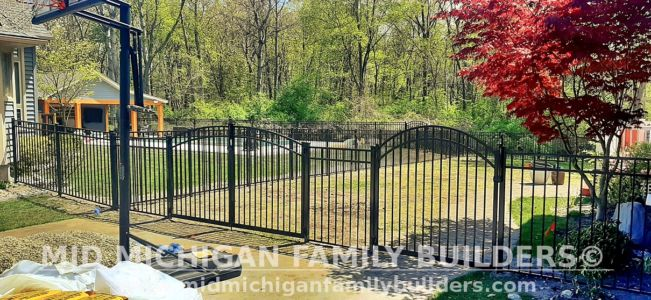 Mid Michigan Family Builders Fence Project 5 2021 01 07