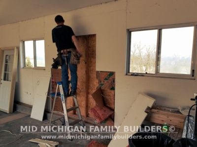 Mid Michigan Family Builders Garage Remodel 05 23 2018 04