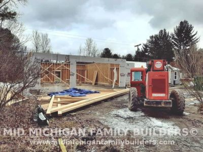 Mid Michigan Family Builders Home Addition Framing 02 2020 01 04