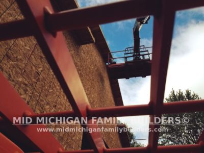 Mid Michigan Family Builders Huge Barn Project 10 2018 11
