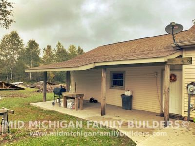 Mid Michigan Family Builders Lean To Project New 10 2021 01 05