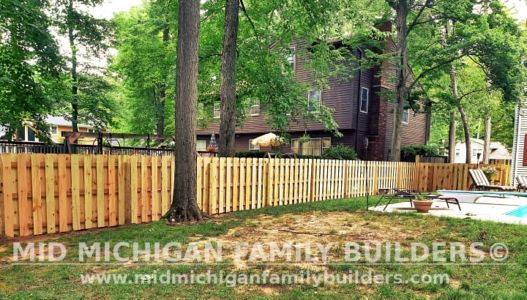 Mid Michigan Family Builders New Fence Project 07 2021 04 07