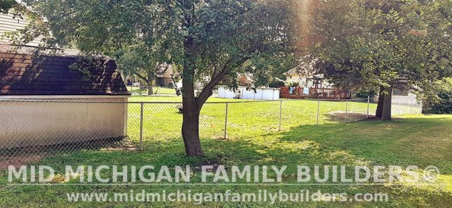 Mid Michigan Family Builders New Fence Project 08 2021 04 03