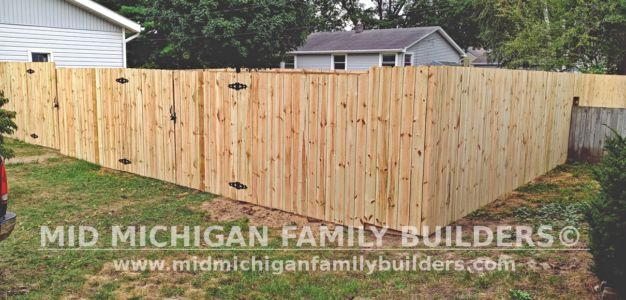 Mid Michigan Family Builders New Fence Project 09 2021 03 03
