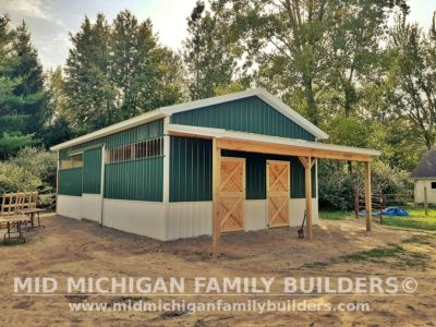 Mid Michigan Family Builders Pole Barn Project 09 2020 01 01