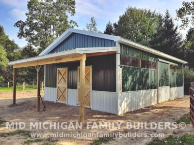 Mid Michigan Family Builders Pole Barn Project 09 2020 01 02