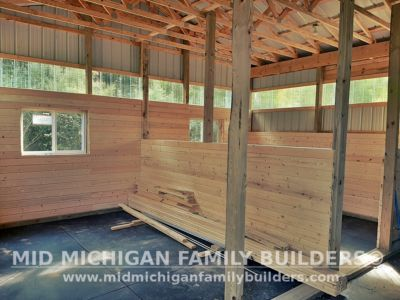 Mid Michigan Family Builders Pole Barn Project 09 2020 01 04