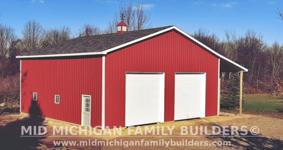 Mid Michigan Family Builders Pole Barn Project 11 2019 01 01