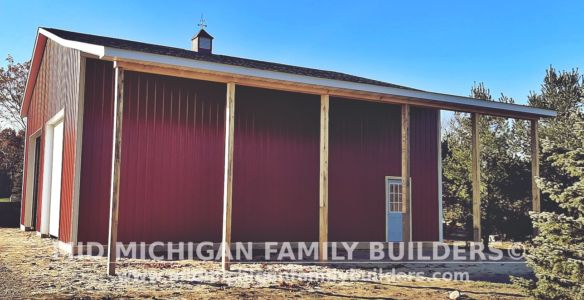 Mid Michigan Family Builders Pole Barn Project 11 2019 01 04