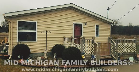 Mid Michigan Family Builders Siding Front Porch Roof Garage Project 06 2019 01 02