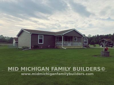 Mid Michigan Family Builders Siding Front Porch Roof Garage Project 06 2019 01 07