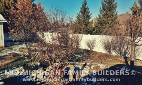 Mid Michigan Family Builders Vinyl Fence Project 11 2018 01