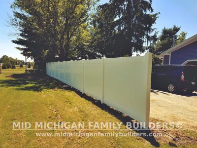 Mid Michigan Family builder fence Project 06 2019 03 02