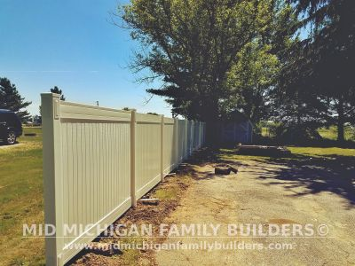 Mid Michigan Family builder fence Project 06 2019 03 03