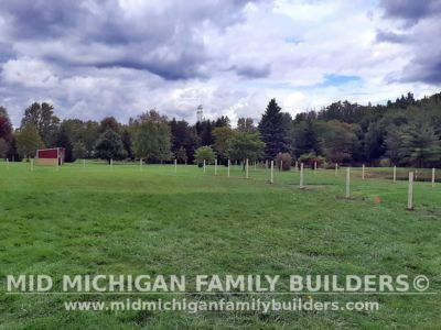 Mid Michigan Famliy Builders Fence Post Project 10 2020 01 02