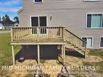 Mid Michigan family Builders Deck Project 06 2020 02 02