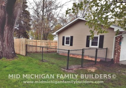 Mid Michigan family Builders Fence Project 05 2020 01 03