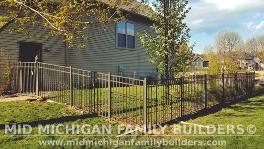 Mid Michigan Family Builders Aluminum Fence 05 2019 01 01