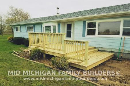Mid Michigan Family Builders Deck Project 05 2019 01 01