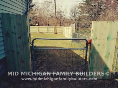 Mid Michigan Family Builders Wooden Fence Project 04 2019 02 05