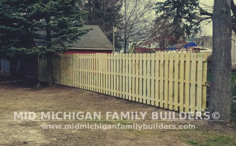 Mid Michigan Family Builders Wooden And Metal Fence Project 04 2019 01 02